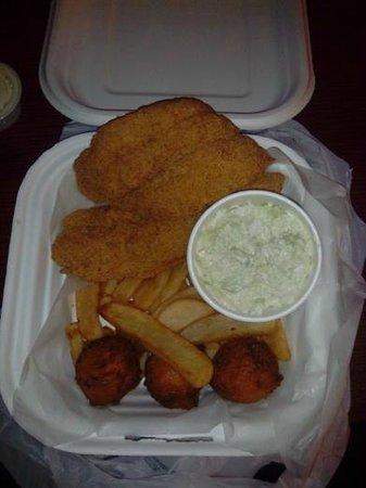 Jimpa's by Catfish Jim: 2 Piece Catfish Dinner