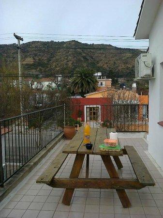 Hotel Altas Cumbres: Patio - Terraza de la habitación