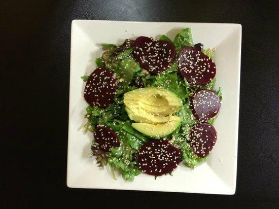Denallis Grill and Bar: Avocado Beet Salad
