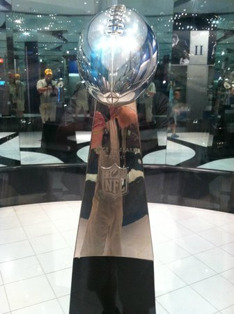 Pro Football Hall of Fame: The 2015 Lombardi trophy for next year's winner