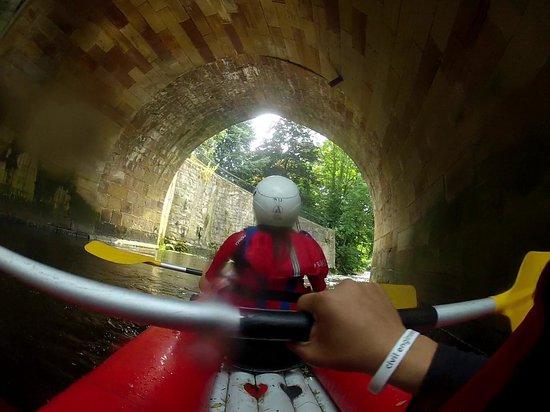 Rapid Horizons Ltd: Kayaking with Rapid Horizons on the River Derwent