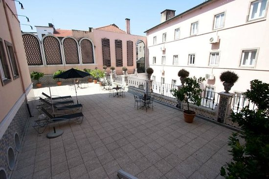 Hotel Infante Sagres : Terrace