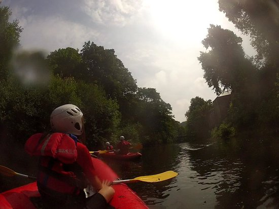Rapid Horizons Ltd: Kayaking with Rapid Horizons on the River Derwent