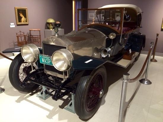 Bennington Museum: 1924 Martin Wasp Touring Car