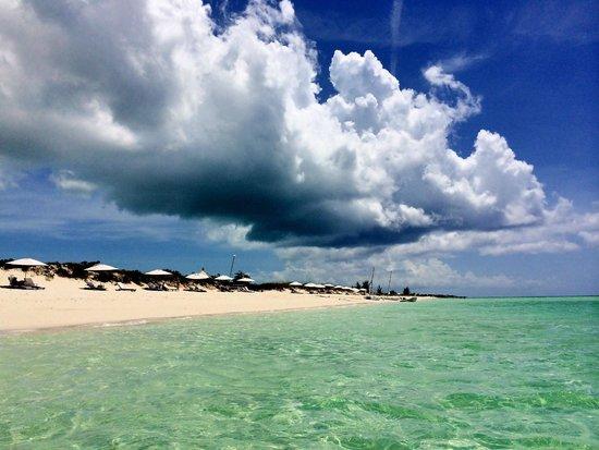 COMO Parrot Cay, Turks and Caicos : Beautiful beach