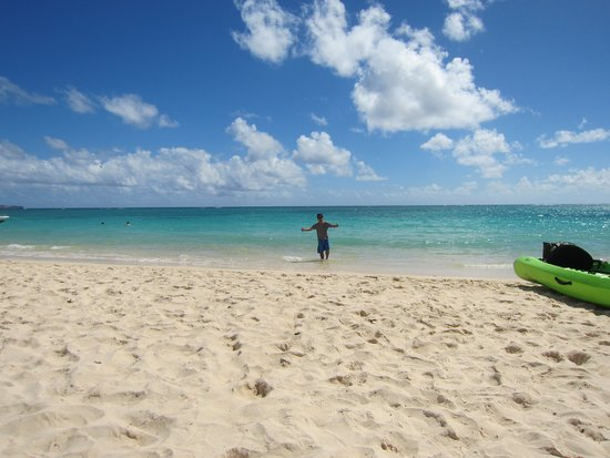 Lanikai Beach: きれいでしょ?