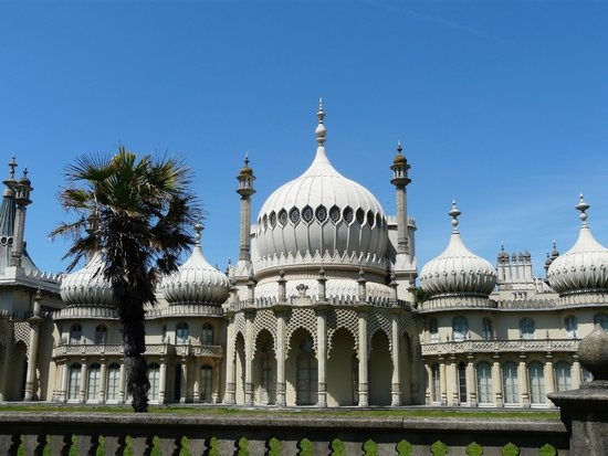Royal Pavilion: View from the road