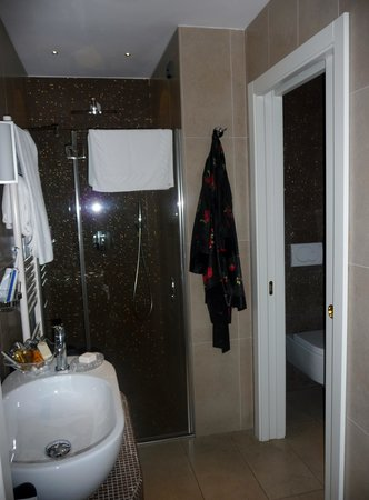 Parc Hotel Flora: badrummet 210