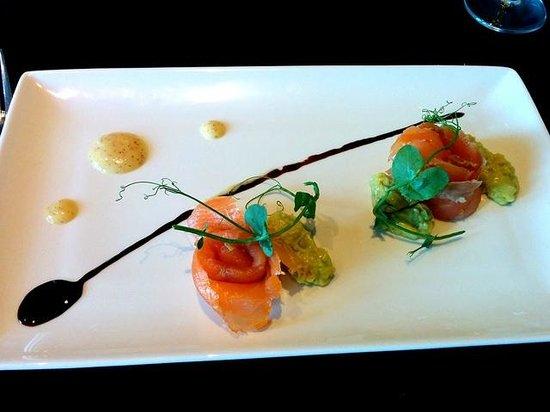 The Garden Room Restaurant: Starter: Salmon