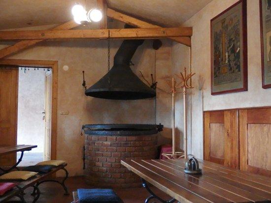 Pivnice Dacicky : A corner in the restaurant