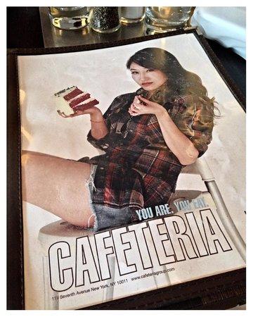 cafeteria: Menu