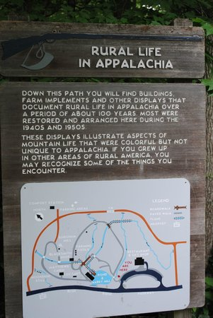 Mabry Mill : The Placard at the Entrance