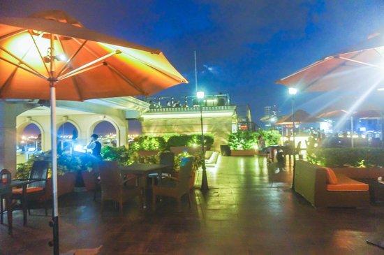 Sky Deck on Bayleaf Hotel: view