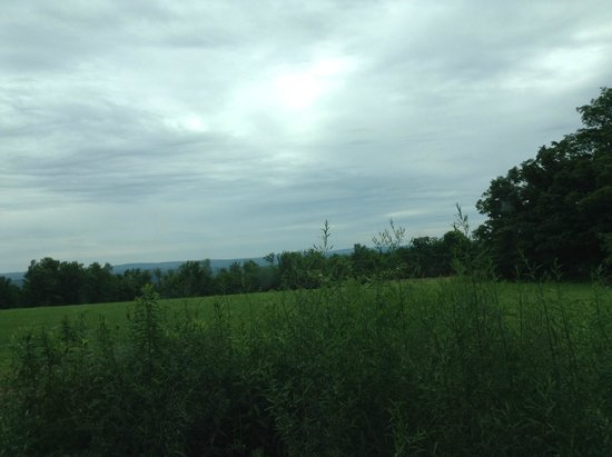 Cummington, Μασαχουσέτη: 敷地を出た前の平原