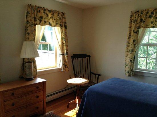 Cummington, MA: シングルベッドルーム