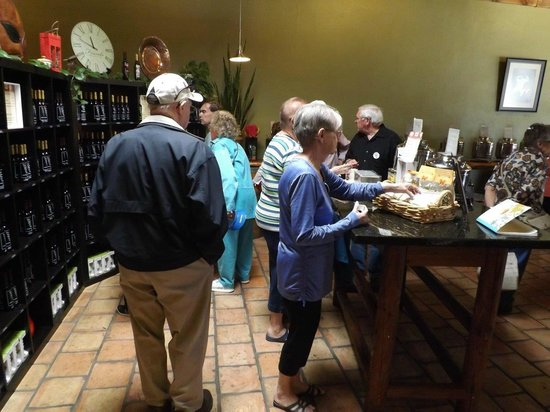 Verde Valley Olive Oil Traders: Guests browsing our products.