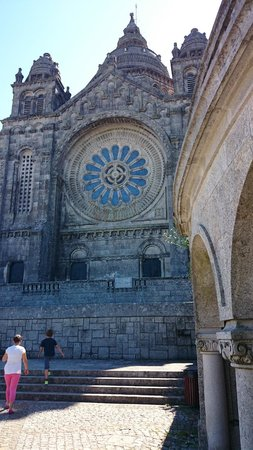 Santuário de Santa Luzia : fachada
