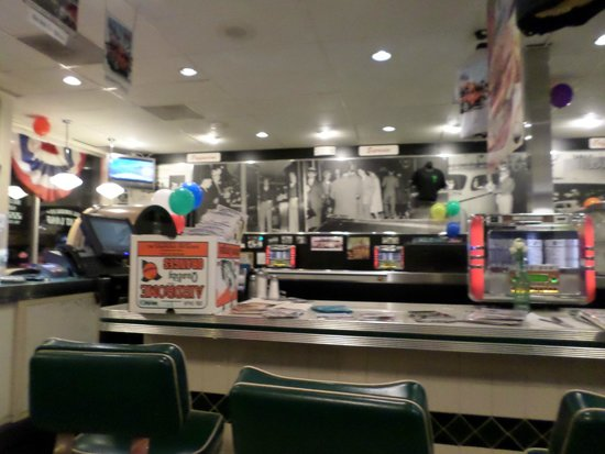 Mel's Drive-In -  Lombard : in the dinner