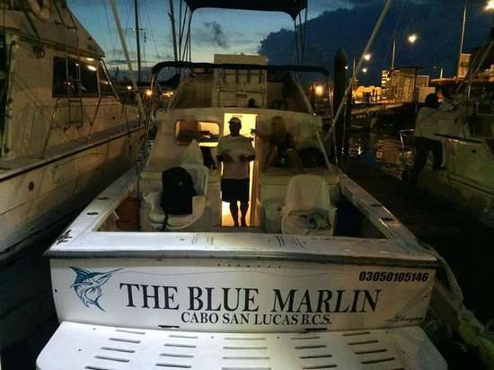 ABY Charters : The day begins on The Blue Marlin