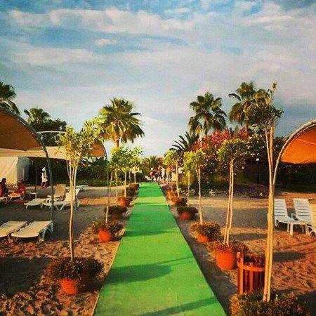 Gypsophila Holiday Village: Spiaggia