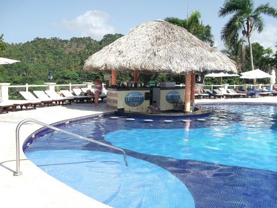 Grand Bahia Principe Cayacoa : Pool Bar, Evelyn is amazing
