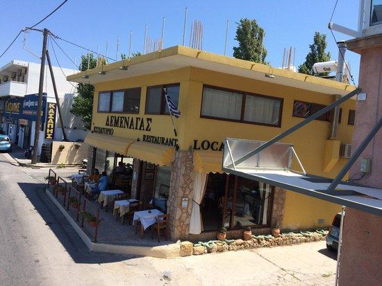Locanda Greek Restaurant : View of the restaurant.