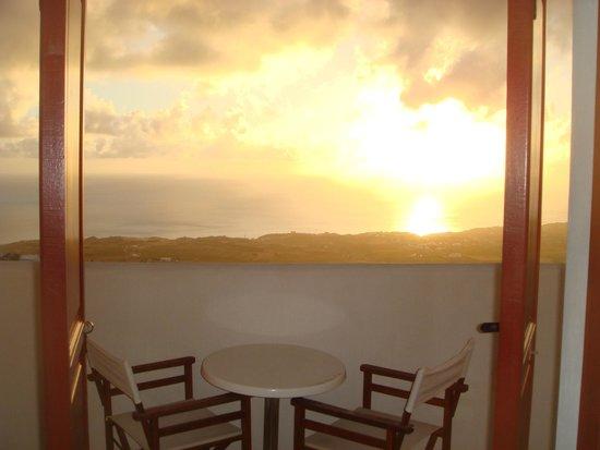 Splendour Resort : Sunset from the balcony