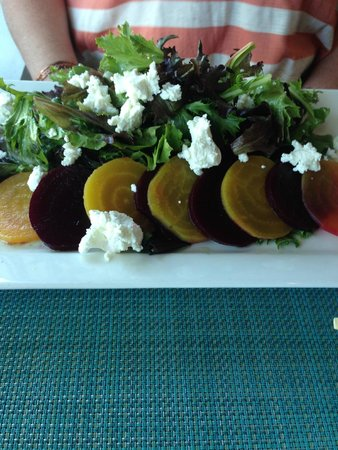 Culver City, CA: Goat Cheese and beet salad