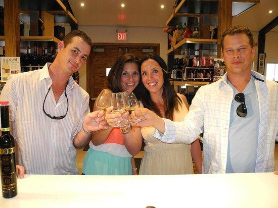 Pillitteri Estates Winery: Our little group