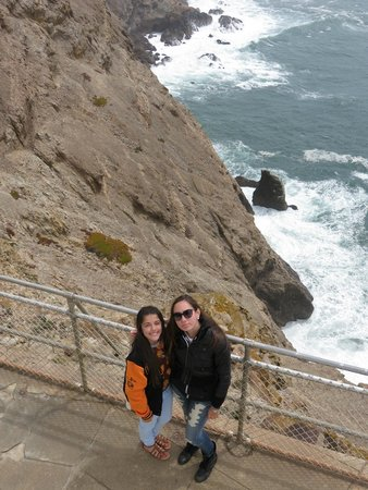 Point Reyes Lighthouse: Smile!