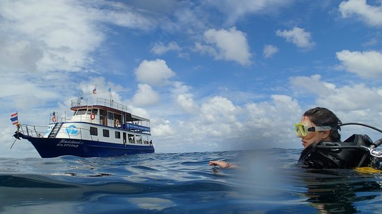 Phuket Dive Tours: the boat!