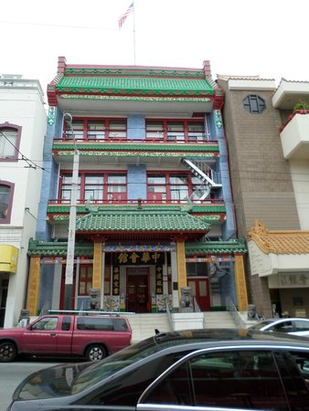Chinatown: one of the buildings