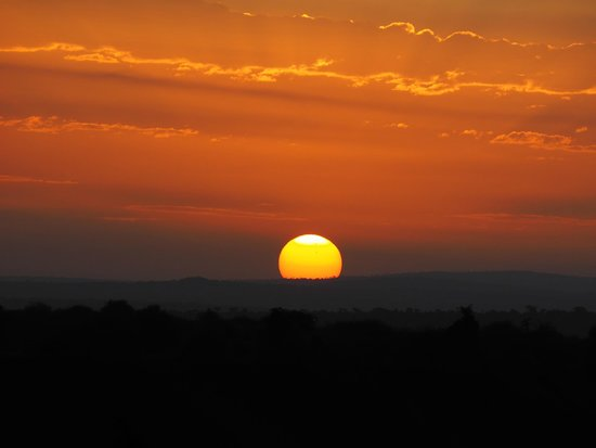 Laikipia Wilderness Camp : Sunrise from the tent