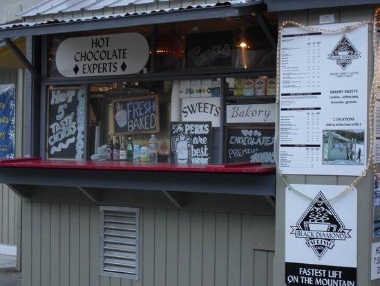 Black Diamond Espresso: basic photo of the kiosk