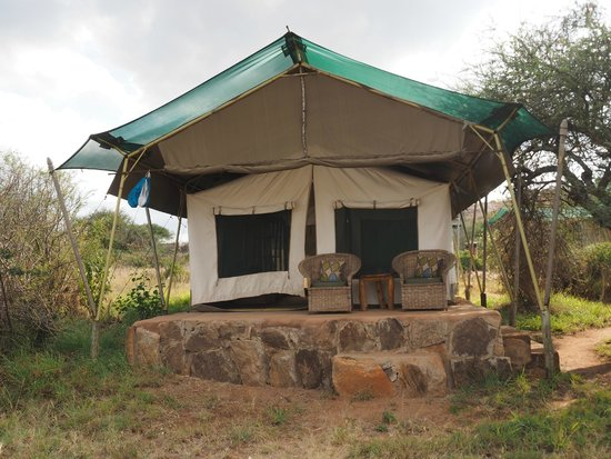 Laikipia Wilderness Camp : one of the tents