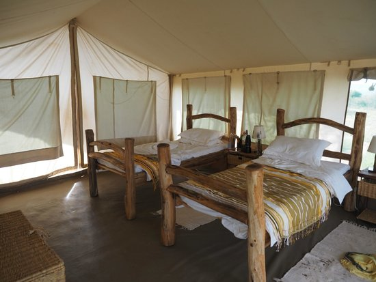 Laikipia Wilderness Camp : a twin bedded tent