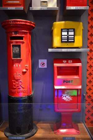 National Postal Museum : postal box from different countries