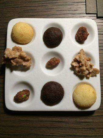 Mercer Hotel Barcelona: Turndown service sweets