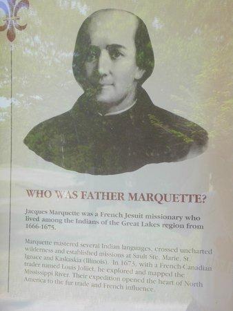 Father Marquette National Memorial: Father Marquette
