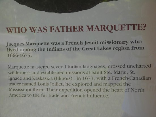 Father Marquette National Memorial: who was Father Marquette?
