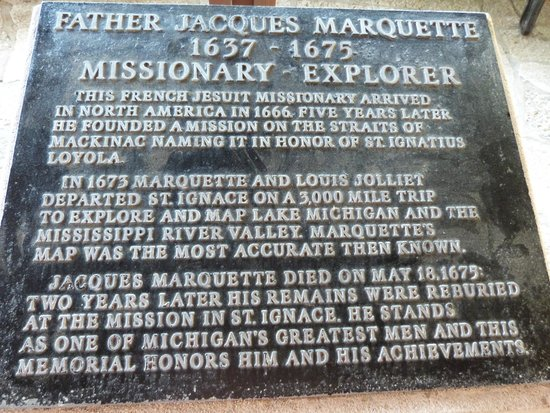 Father Marquette National Memorial: missionary explorer