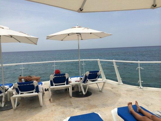 Playacar Palace: Vista al caribe Cozumel Palace