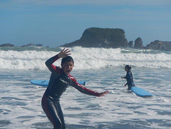 West Coast Surf: I'm Up and riding