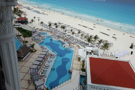 Hyatt Zilara Cancun: View from our balcony