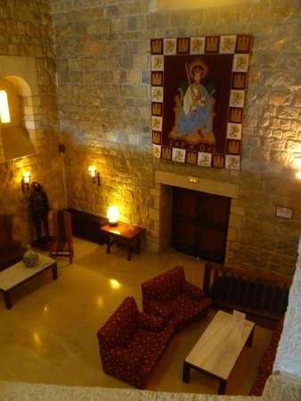 Parador de Jaén: Reading lounge
