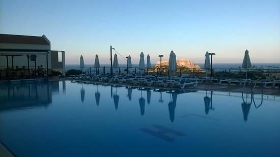 Lindos Horizon: The pool with a view!