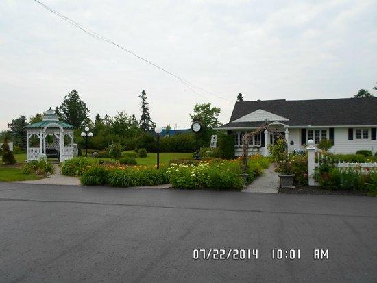 Plaza Motor Motel gardens