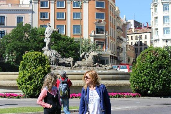 Paseo del Prado: Fuente de Neptùno