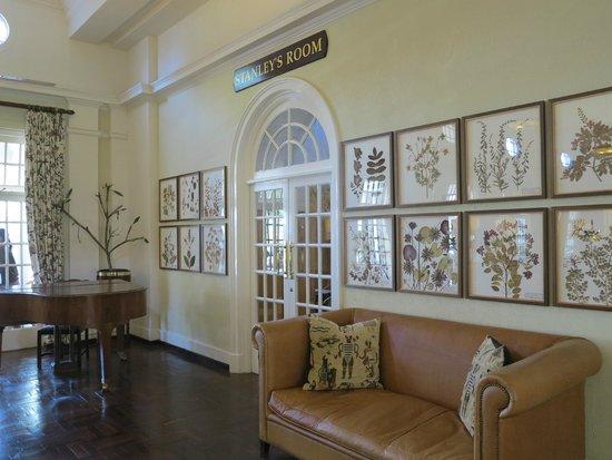 The Victoria Falls Hotel: the public rooms