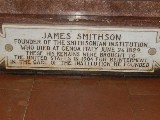 Smithsonian Institution Building : About James Smithson
